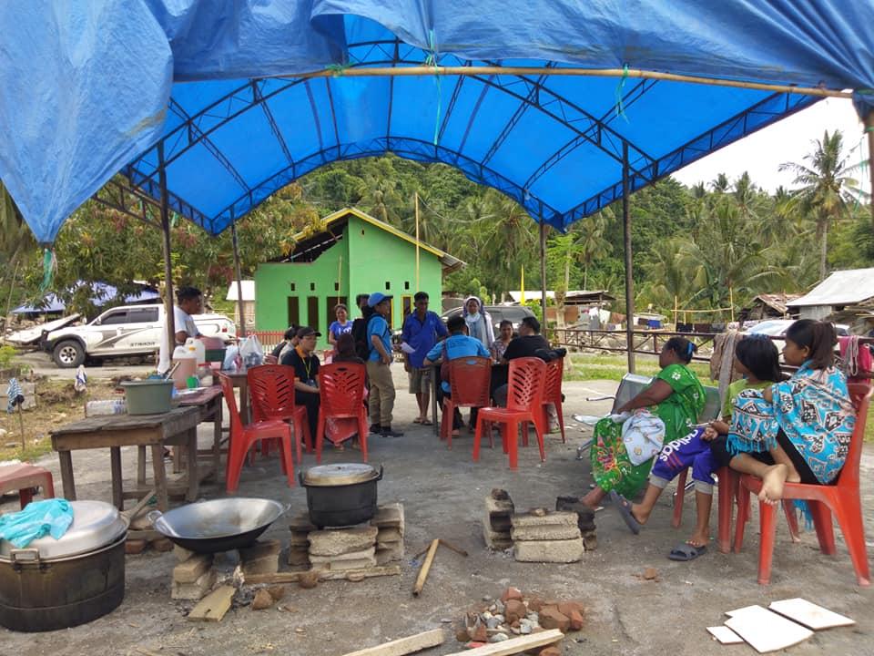Suore in missione umanitaria a Central Sulawesi