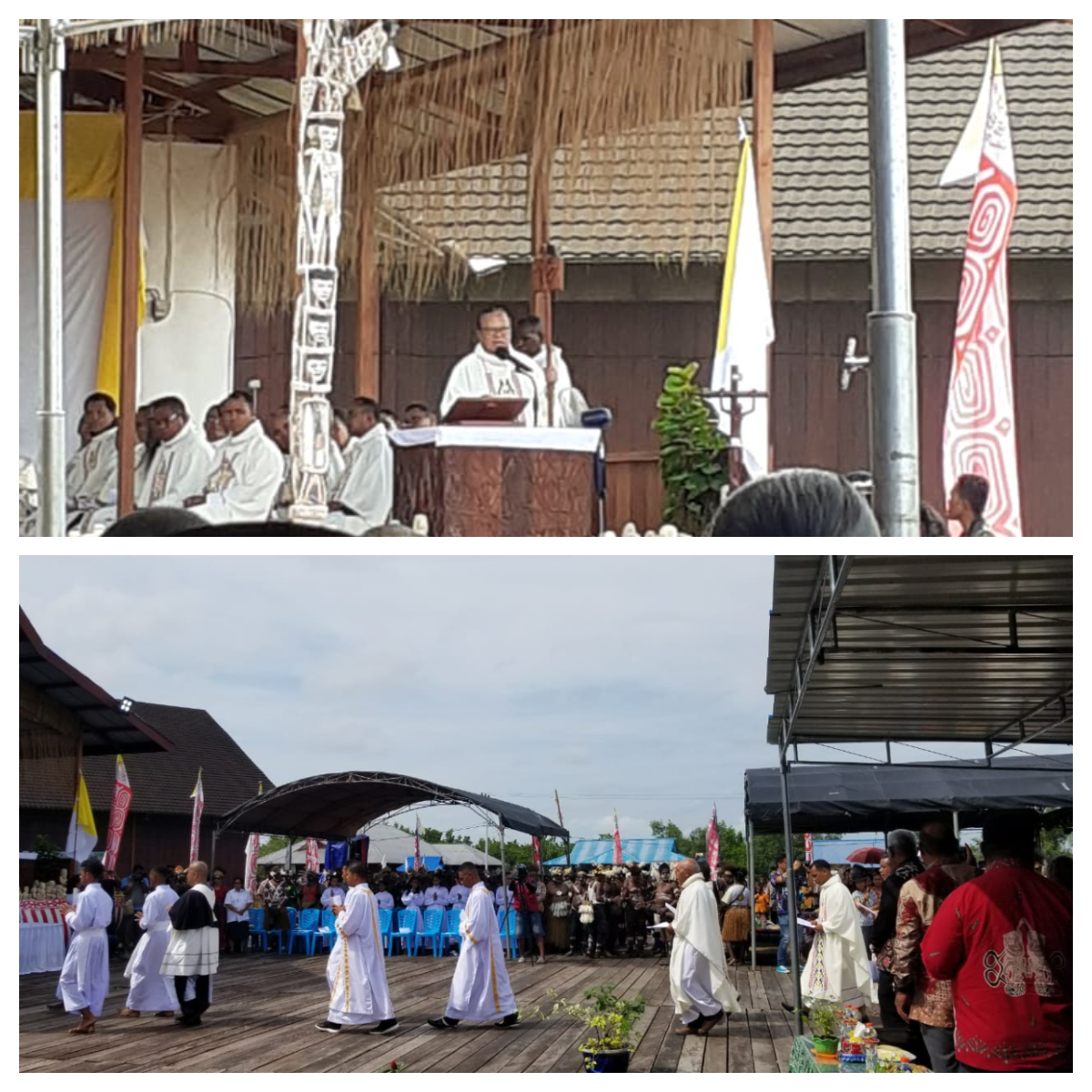 50th anniversary of the diocese of Agats