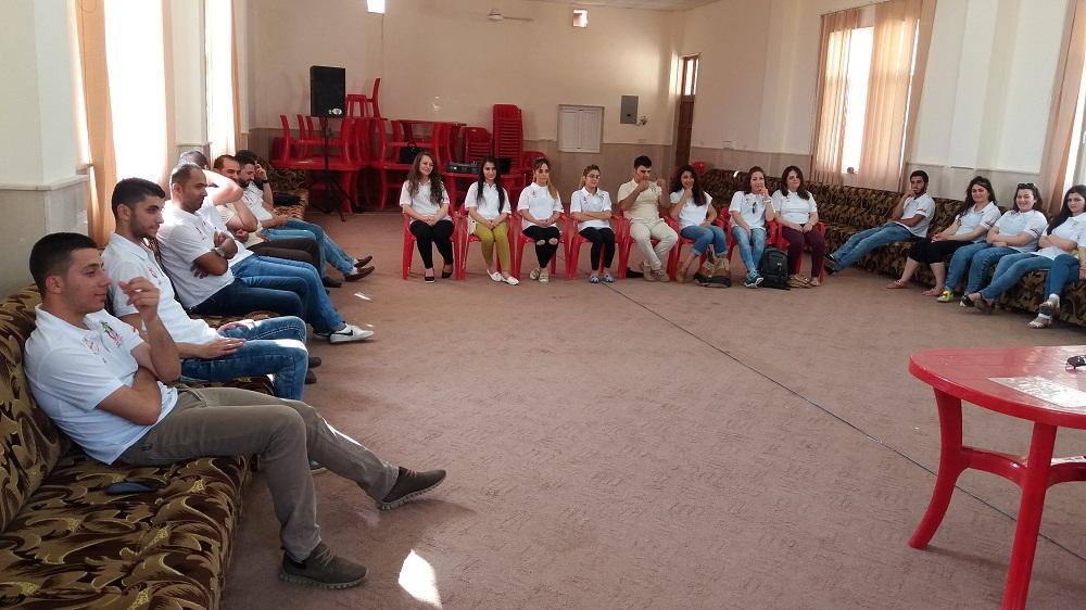 Giovani irakeni alla Gmg