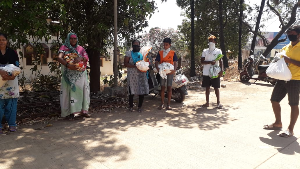Covid-19 aid for tribal migrants