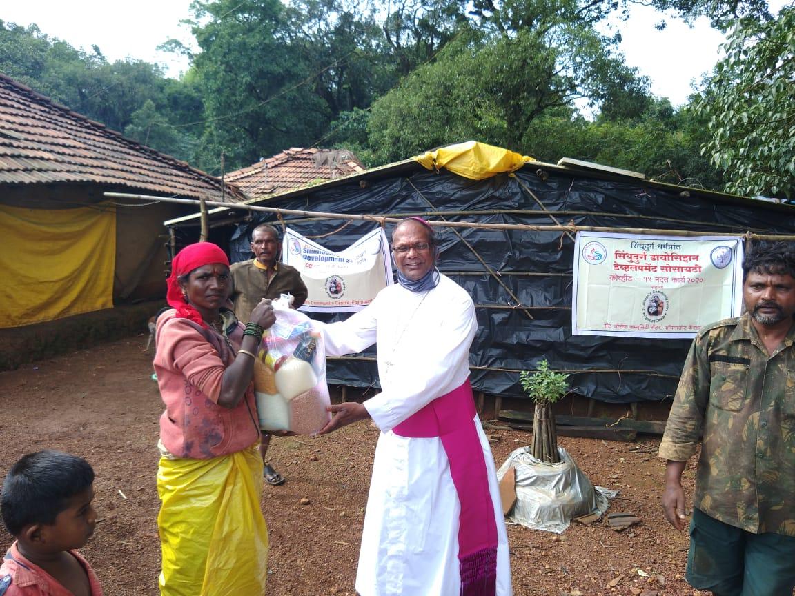 Help for tribals in Beradki village