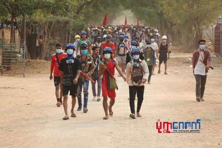 Myanmar protests: silent strike