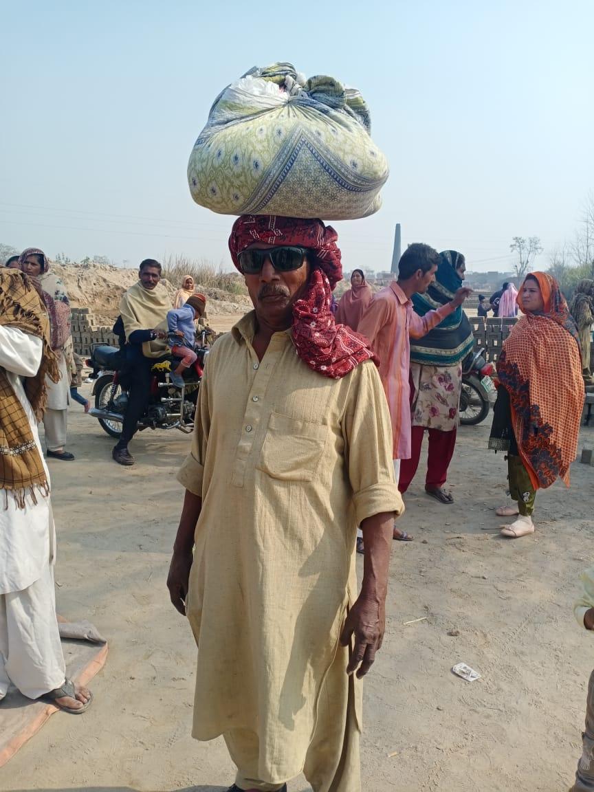 Kamalpur: brick workers