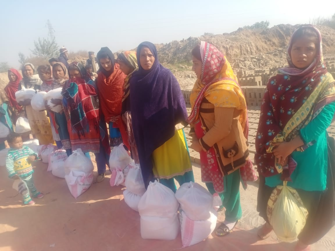 Malikpur: Helping unemployed brick factory workers