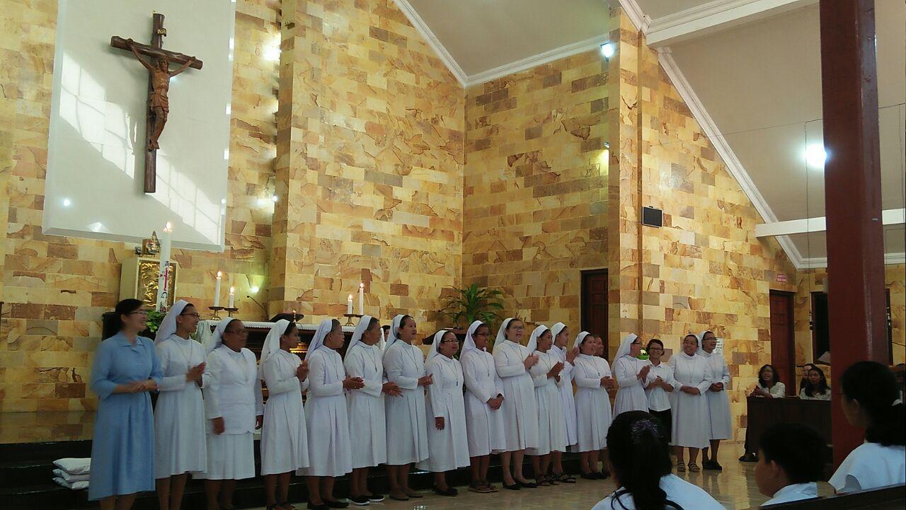 Parrocchia di St. Theresia Jombor di Klaten, Central Java 01