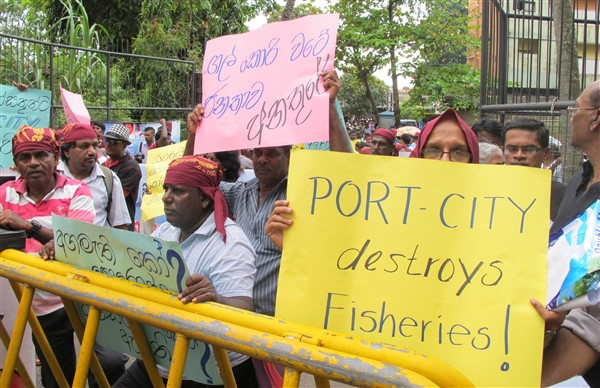 Città portuale Colombo