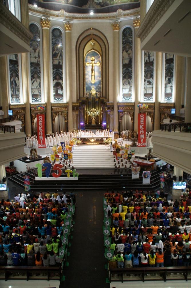 Raduno nazionale dei Giovani missionari a Pontianak (West Kalimantan)