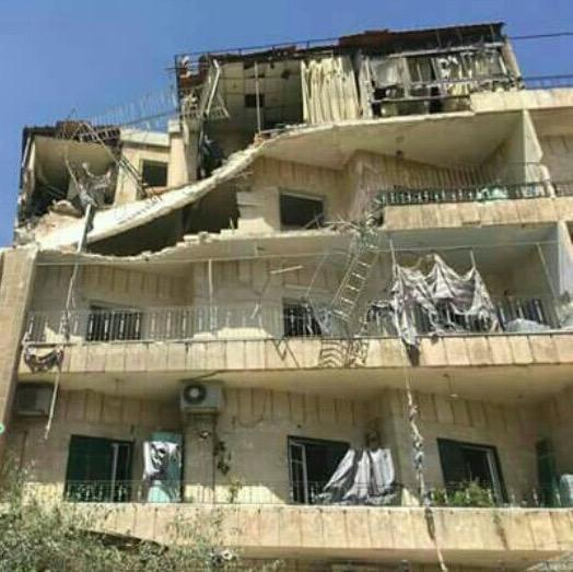 Aleppo sotto le bombe