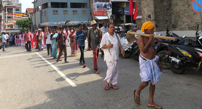 Primo maggio in Sri Lanka