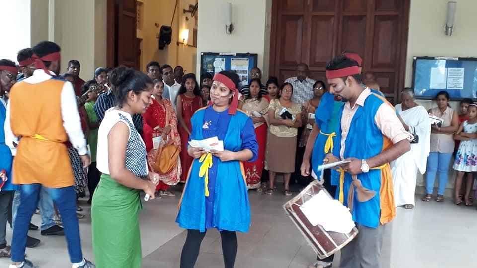 World Migrants Day Commemoration at the Wattala St. Anne's Church with Caritas Sri Lanka-Sedec