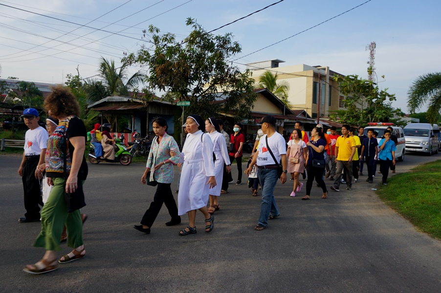 Celebrations for the 70th Anniversary of the Augustinian Sisters of Divine Mercy (OSA) in Ketapang