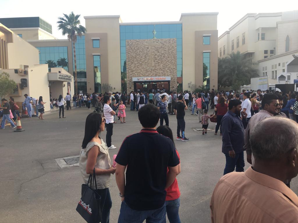 La Pasqua dei 5mila migranti ad Abu Dhabi