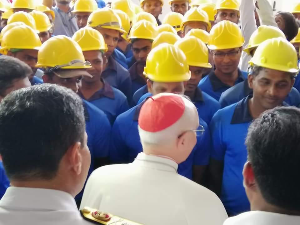 Il card. Filoni visita lo Sri Lanka
