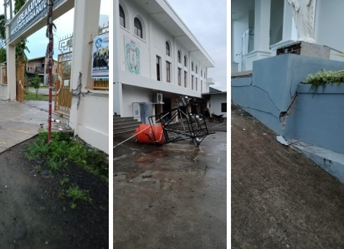 Earthquake in West Sulawesi