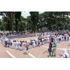 Dhaka, migliaia di studenti formano una catena umana contro il terrorismo-8