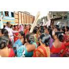 Donne in West Bengal protestano con piatti vuoti-5