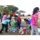 Ragazze cattoliche ripuliscono le spiagge dello Sri Lanka-5
