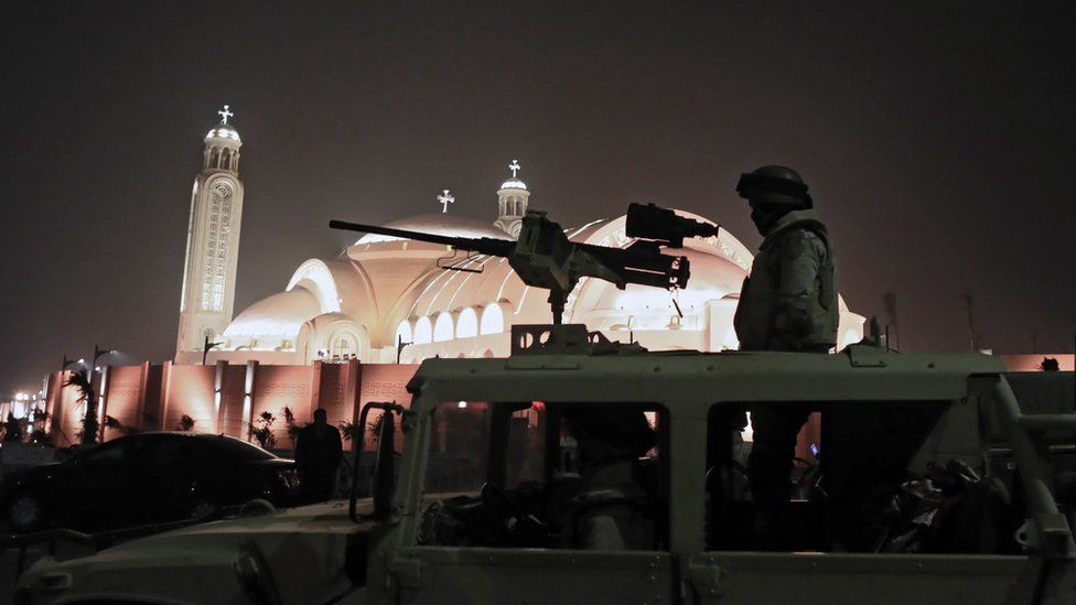 Egypt Fr Rafic Coptic Christmas In The New Cathedral An Event