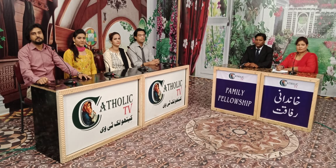 PAKISTAN Lahore, a program for families broadcast on