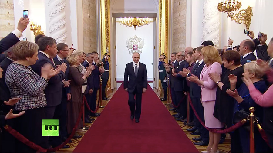 Russia Vladimir Putin Inaugurated For Fourth Term As President