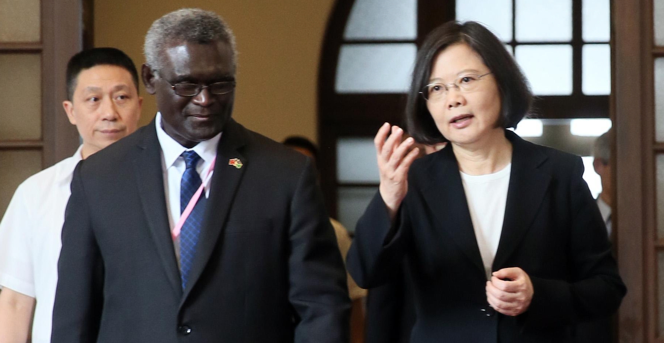 Solomon ties switch shows China extending its influence in region