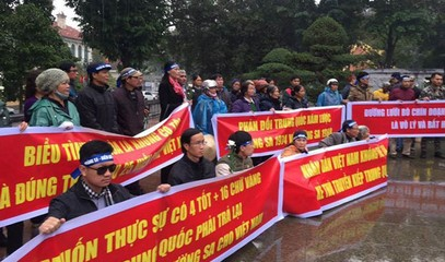 Hanoi cracks down on protests commemorating soldiers who fell on Paracel Islands