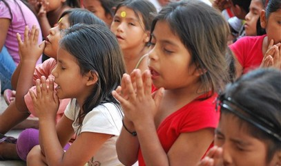 Indian Church celebrates the day of prayer and fasting for peace