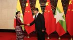Dams and diplomatic relations: Aung San Suu Kyi in China