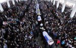 Thousands of people attend the funeral of Kachin Christian teachers raped and killed by soldiers