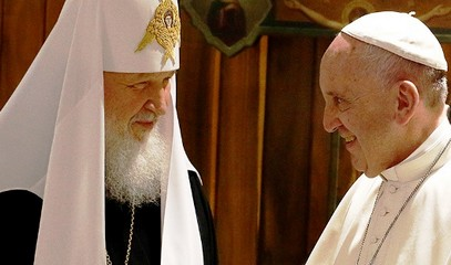 Kirill: the meeting with Francis in Havana saved the world