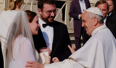 Pope to the Roman Rota: It takes great courage to get married today. The Church must lend its support