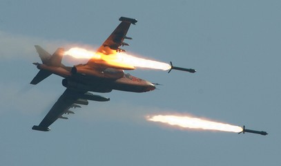 For the first time joint Russia and Turkey air raids against Isis