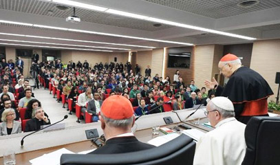 Pope: Escaping from the 'poisoned' logic of 'but it's always been that way'