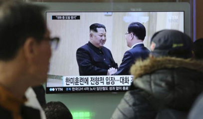 Preparations for Korea-US summit. Moon's approval ratings hit 74%
