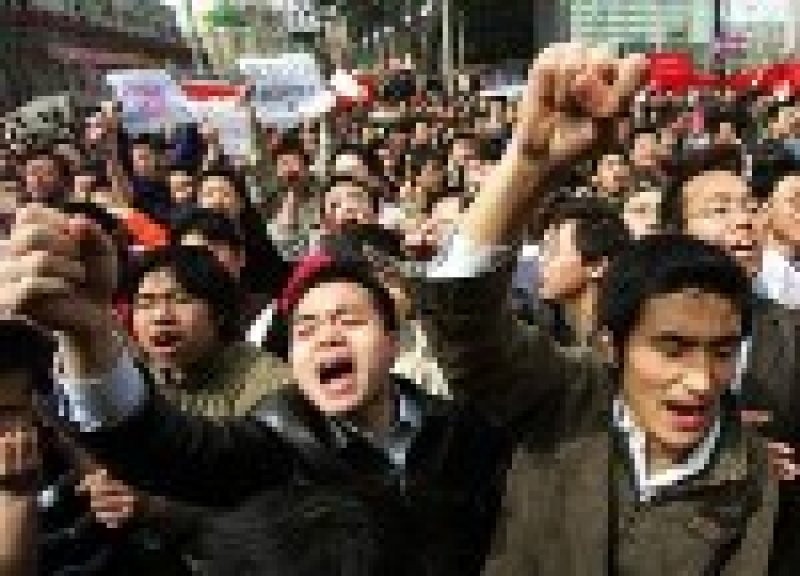 an essay on the actions of the government on the protests in china The teenager who became the public face of the hong kong protest movement has called on david cameron to publicly challenge the visiting chinese protestors captured the world's attention when they occupied streets for 79 days and tried to storm the government headquarters (reuters.