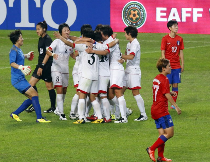 KOREA Women's football: After North defeats South, players