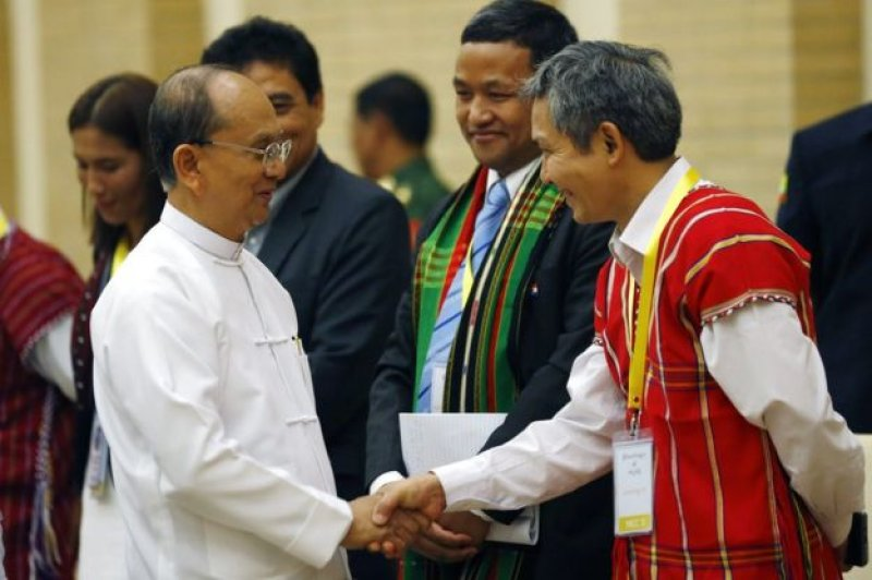Myanmar Myanmar Partial Peace Agreement Signed Between Government