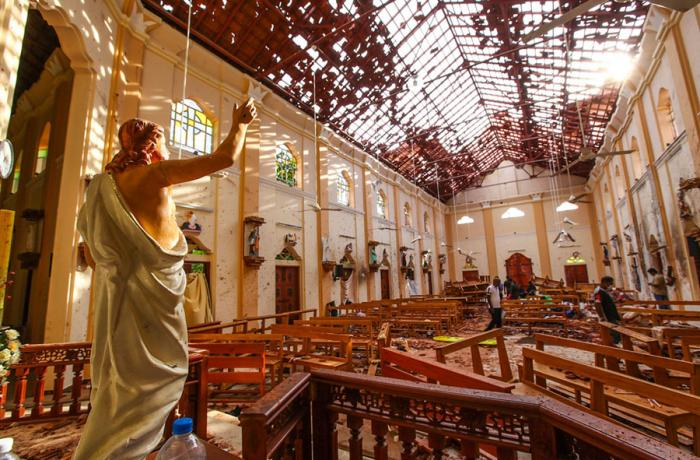 One year later, Sri Lanka stops to remember 280 victims of Easter Sunday 2019 church bombings...