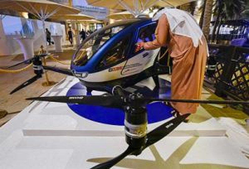 UNITED ARAB EMIRATES First self-driving hover-taxi